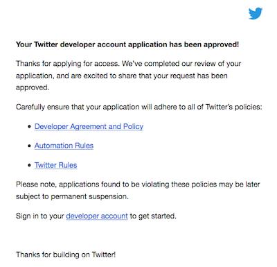 Twitter メール