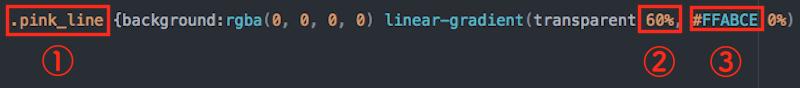 蛍光ペン CSS記述
