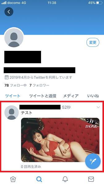 Twitter動画投稿